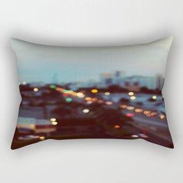 South Beach Bokeh Rectangular Pillow