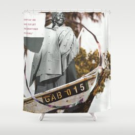 GAB 015 Shower Curtain