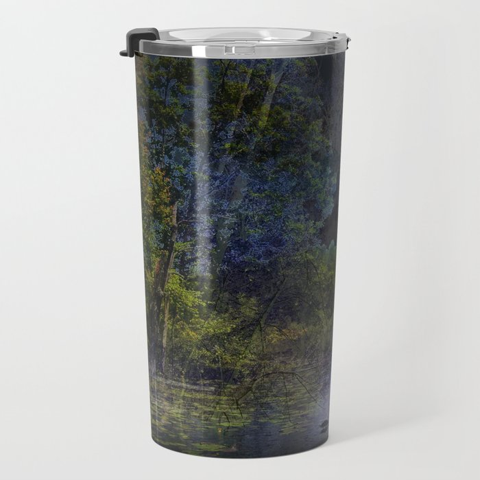 the lake of magic swans Travel Mug