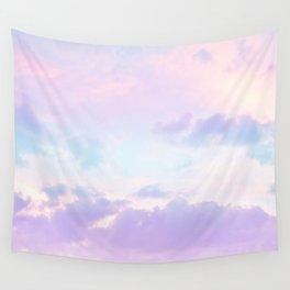 Unicorn Pastel Clouds #1 #decor #art #society6 Wall Tapestry