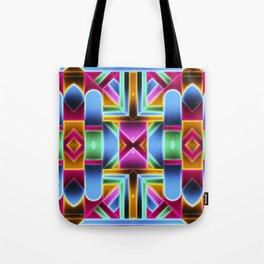 Neon Colorful Tote Bag