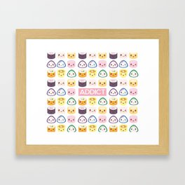 Sushi Addict Framed Art Print