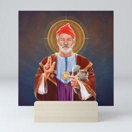 Saint Bill of Murray Mini Art Print