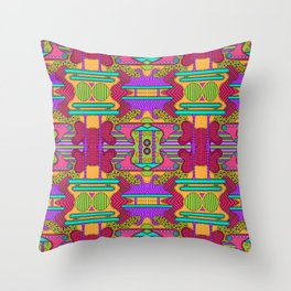 conglomeration Throw Pillow