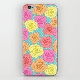 Spotty Rose iPhone Skin