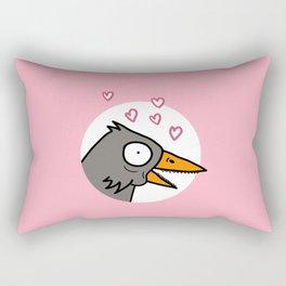 Draw a Bird Rectangular Pillow