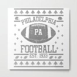 Philadelphia Football Fan Gift Present Idea Metal Print