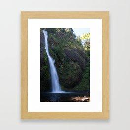 Horsetail Falls Framed Art Print