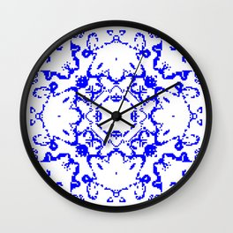 CA Fantasy Blue series #4 Wall Clock
