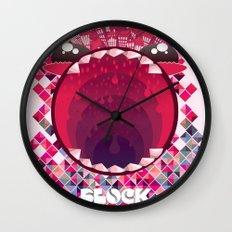 Block Party! Wall Clock