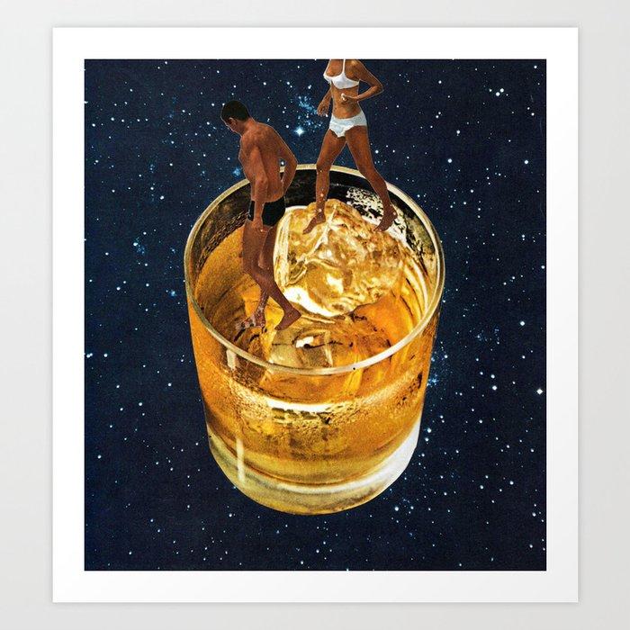Space Date Art Print