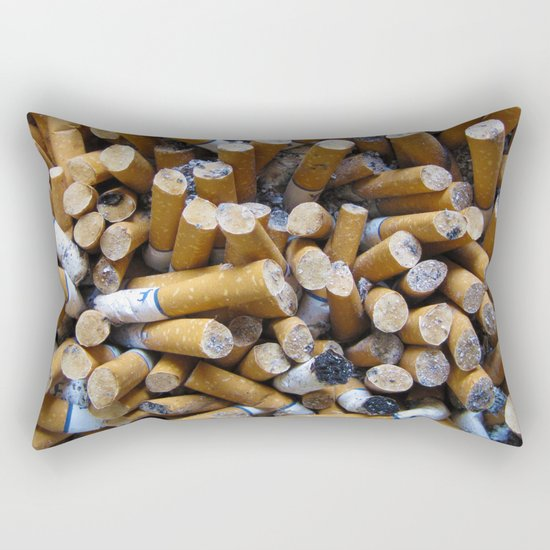 Ashes to Ashes Rectangular Pillow