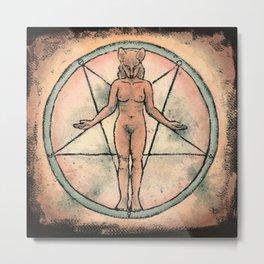 Sacred and Profane Metal Print