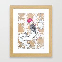 Charlize Dream Framed Art Print
