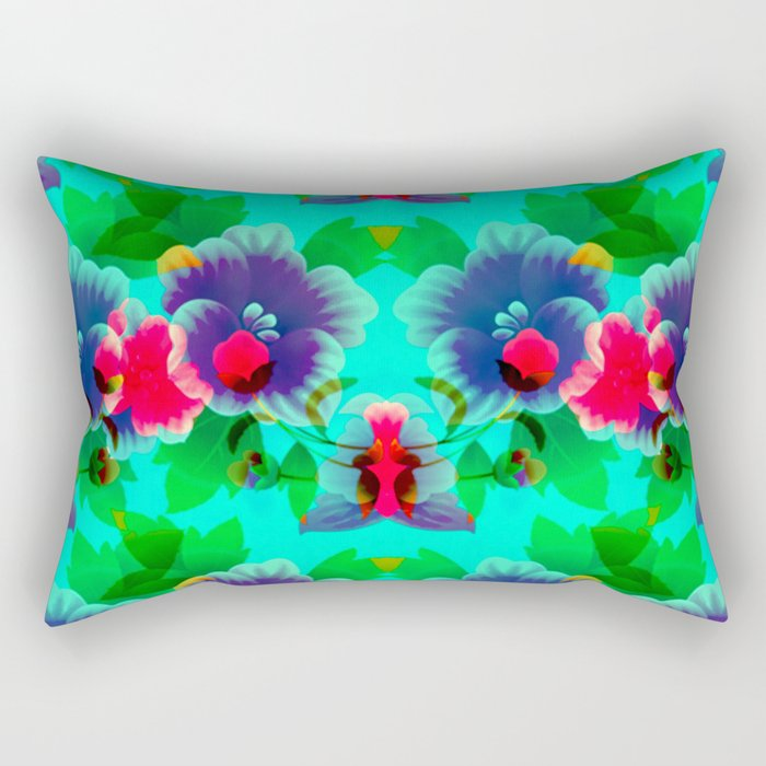 Fall Garden Rectangular Pillow