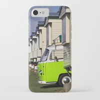 vw bus iPhone & iPod Cases featuring Vdub VW Bus by Rainer Steinke