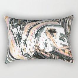 Modern Horse Art by Sharon Cummings Rectangular Pillow