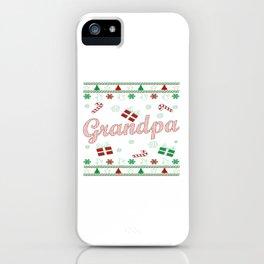 Grandpa Christmas iPhone Case