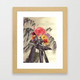 the truest thing we'd ever known Framed Art Print