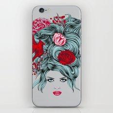 Winter Girl iPhone & iPod Skin