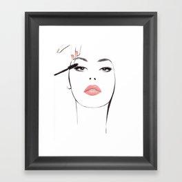 Lash By Lash Framed Art Print