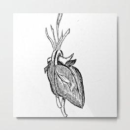 The heart that beats Metal Print