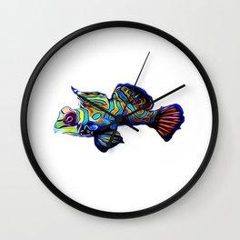 Mandarin Goby dragonet Wall Clock