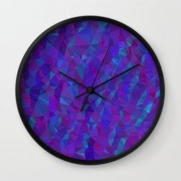 Jewel Tone Sparkles Wall Clock