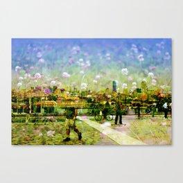 Boston Skyline Canvas Print