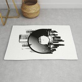 Urban Vinyl of Underground Music Rug