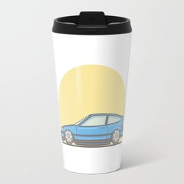 Honda CRX mk2 vector illustration Travel Mug