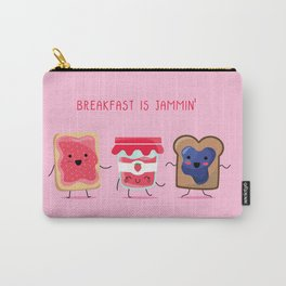 Breakfast Is Jammin' Carry-All Pouch