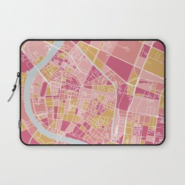 Bangkok map Laptop Sleeve