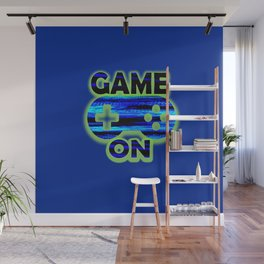 Game On Wall Mural