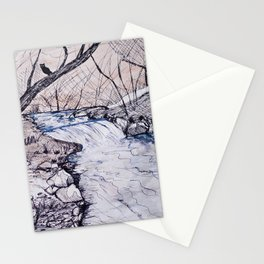 The waters of Nabia Stationery Cards