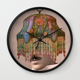HE WAS ALWAYS THE LIFE OF THE PARTY (TESLA) Wall Clock