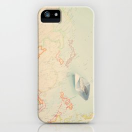 map IV iPhone Case