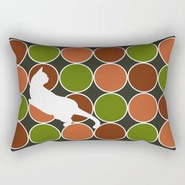 Playful Cat  Rectangular Pillow