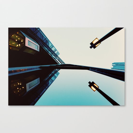 Endless Reflections.  Canvas Print