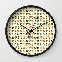 ABORIGINAL ANIMALS Wall Clock