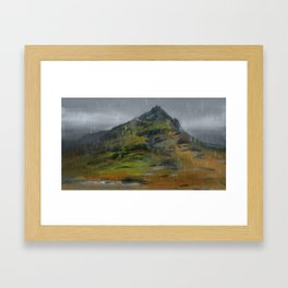 Cairn Framed Art Print