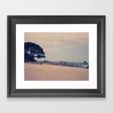 Summer Escape Framed Art Print