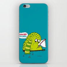 Too Big To Sail iPhone & iPod Skin
