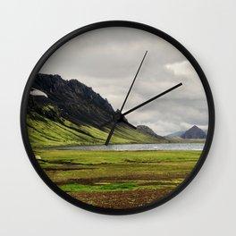 þórsmörk II Wall Clock