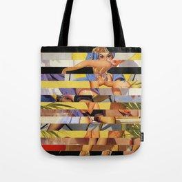Glitch Pin-Up Redux: Courtney Tote Bag