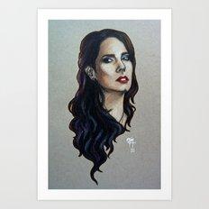 Pretty Little Human Art Print