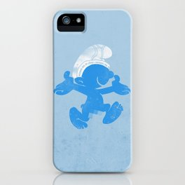 KRAZY BLUE iPhone Case