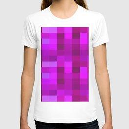 Purple Mosaic T-shirt