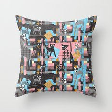Picasso's cats Throw Pillow