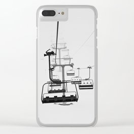 Winter Fog Clear iPhone Case